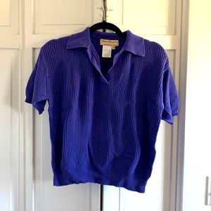 💕3 for $20💕 Norm Thompson Purple Sweater Top